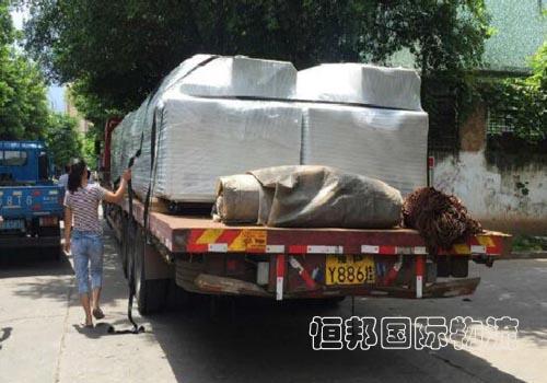 香港進口機械清關后安排配送