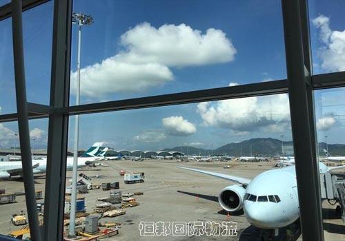 香港機場清關快速將貨物送到客戶手中