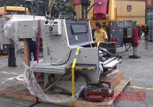 日本進口機械配合香港中檢裝卸