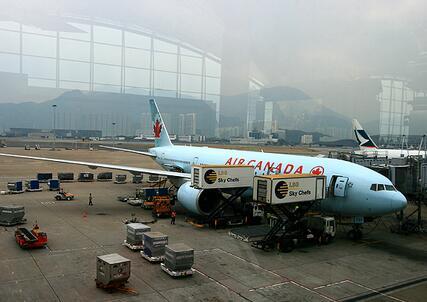 進出口貨物採用航空運輸