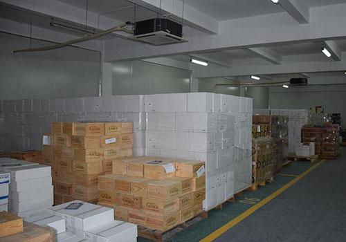 進口紅酒香港倉庫接貨安全存儲