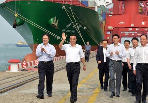 總理視察港口提升進出口服務品質