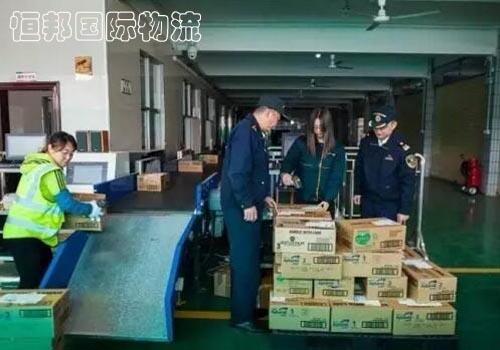 香港進口貨物配合海關查驗加快通關時效
