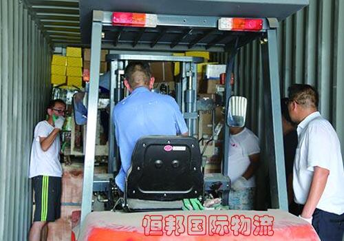泰國清關公司將貨物裝柜