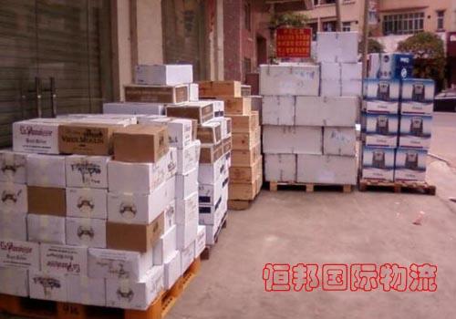 澳大利亞食品辦理清關手續提貨給客戶配送