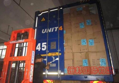 中國到泰國海運雙清提供準確裝箱資料