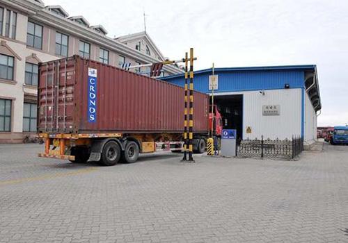 進口貨物送達海關監管區等候查驗