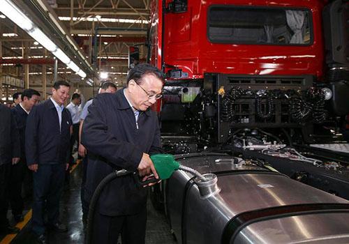 总理考察企业,落实貿易便利化措施