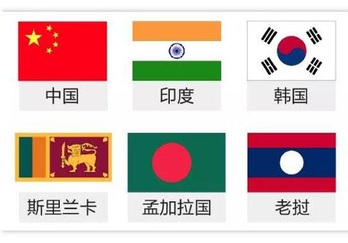 《亚太贸易协定》六个成员国
