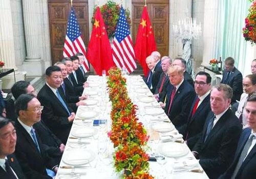 中美貿易會晤,停止加征新的關稅