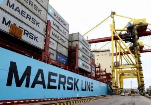 马士基航运公司集装箱码头装卸