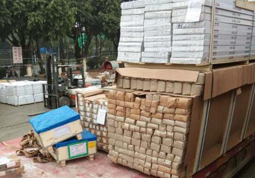 出口柬埔寨建築材料裝卸