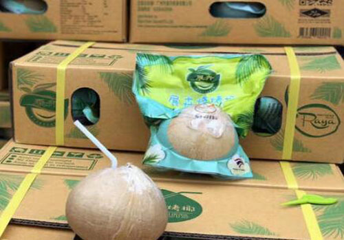 Coconut import clearance customs inspection