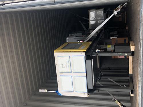 日本進口大型貼片機生産線到广州港向海关申报